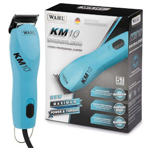 Wahl KM-10 Animal clipper With Bonus Wahl 7.5 inch scissor plus 6.5 inch Wahl Thinners.
