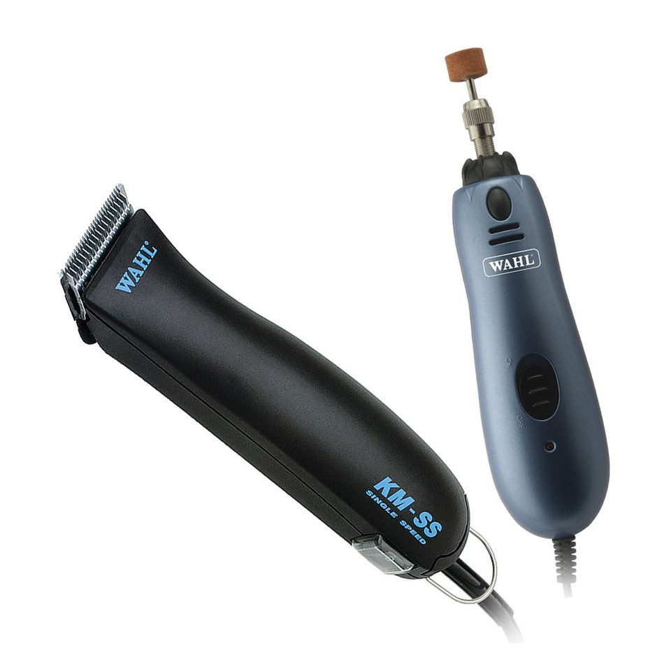 Wahl KM-Single Speed Clipper with bonus nail grinder
